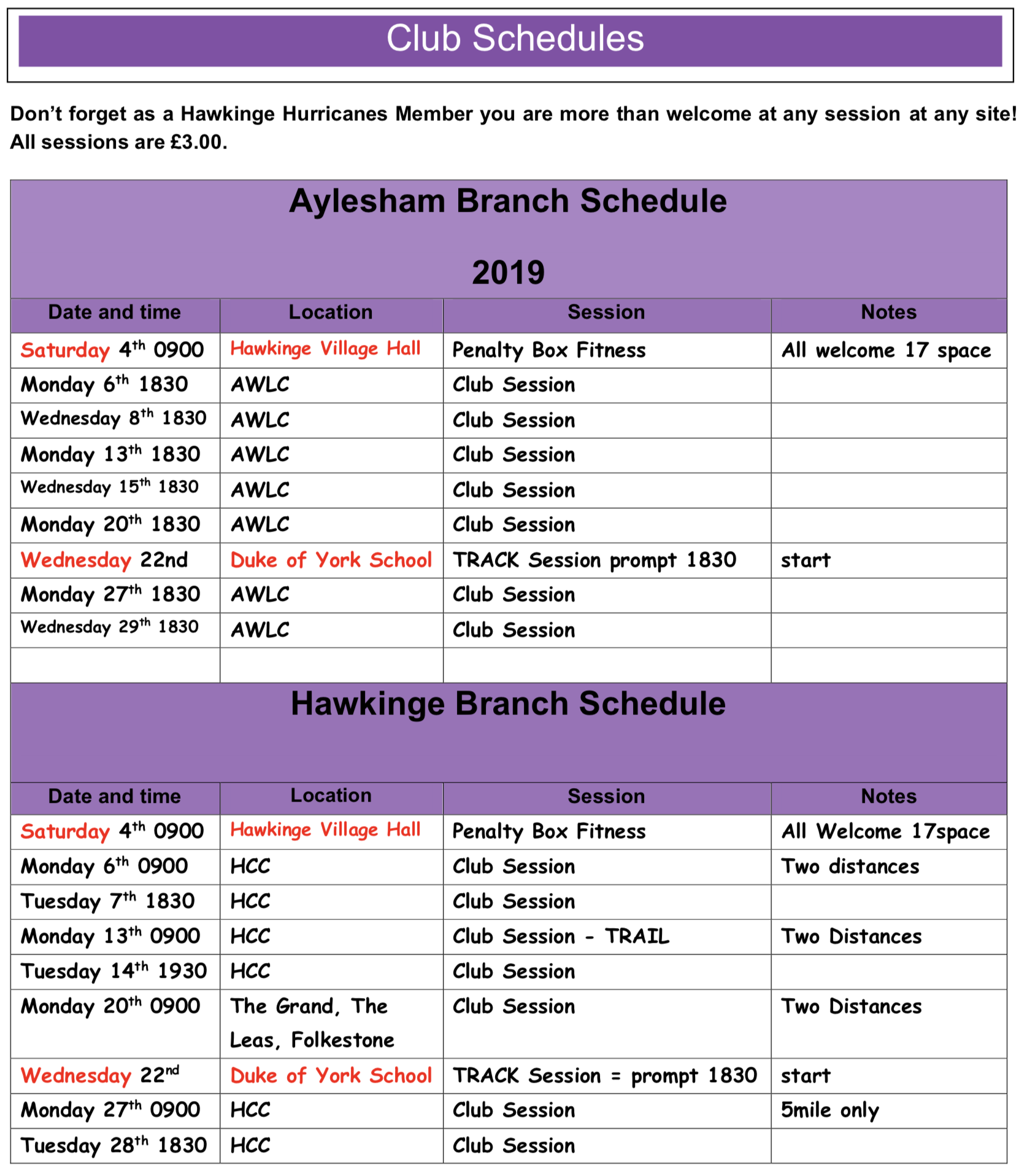 Schedule-January-2020